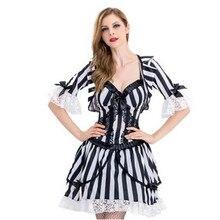 S-XL Sexy femme adulte les âmes fantôme Cosplay femmes Halloween fétiche Costume Vampire jeu de rôle mascarade boîte de nuit robe de soirée