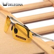 Luxury Night Driving Glasses Polarized Sunglasses Men Yellow Fishing Goggles Brand Designer UV protection