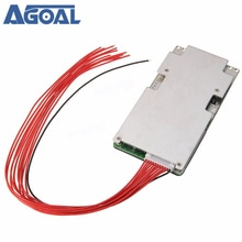 Carte de Protection de batterie Li-ion 37V 42V 10S 45A système de carte PCB BMS Protection de décharge de Charge avec équilibre de bande