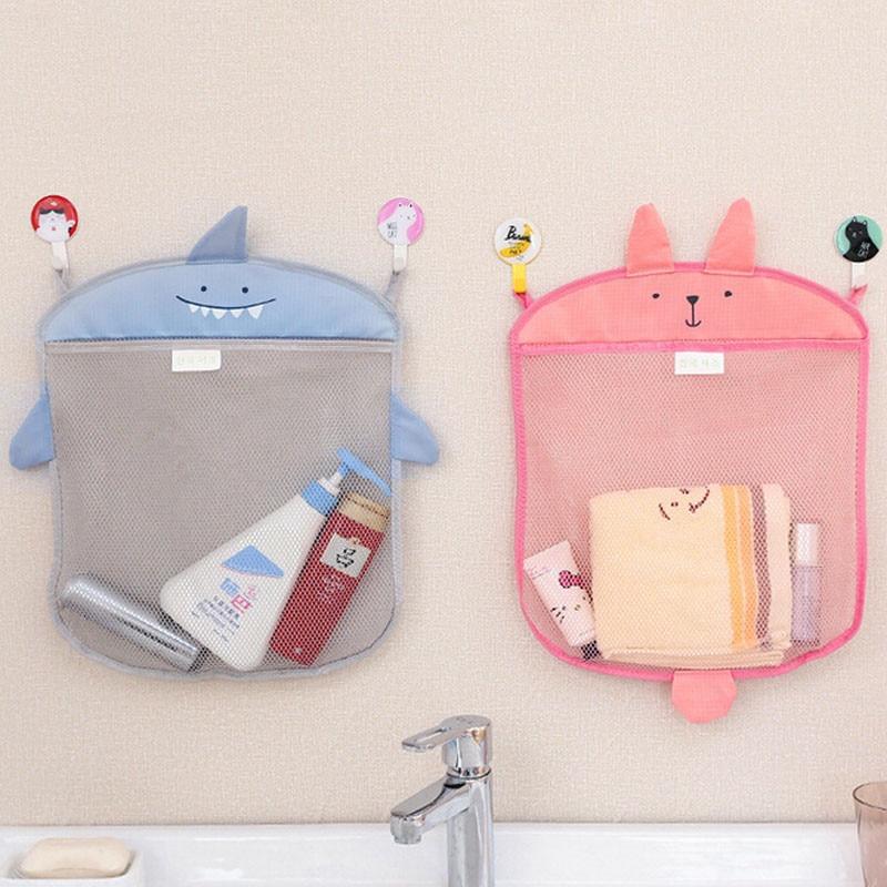 40,5*35 см детская Сетчатая Сумка для ванной, Детская игрушечная сумка в виде мультяшного животного, водонепроницаемая тканевая игрушка, корзины CX674643