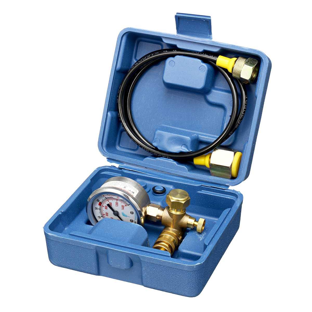 Medidor de presión Kit de Medición de Gas nitrógeno carga hidráulico martillo dispositivo ACCESORIOS Herramienta para Furukawa Soosan-JY04