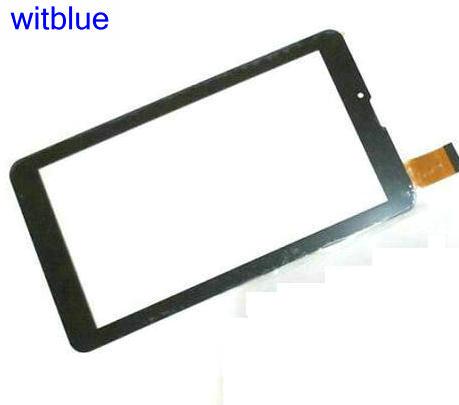 Witblue nueva pantalla táctil para tableta 7 para el digitalizador del Panel de la pantalla táctil Irbis TZ45/TZ46/TZ50 3G sensor de piezas de repuesto