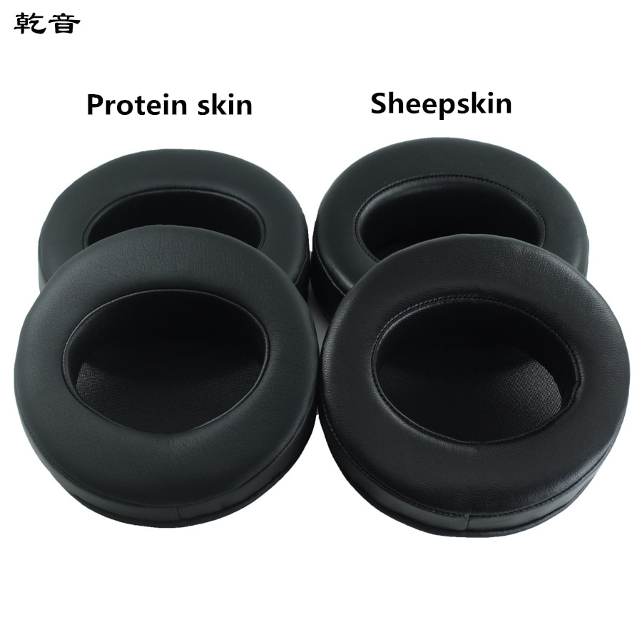 1 Pair 105MM Replacement Soft Sheepskin Protein Foam Ear Pads Cushions for Audio-Technica ATH-W5000 Headphones High Quality 1.15