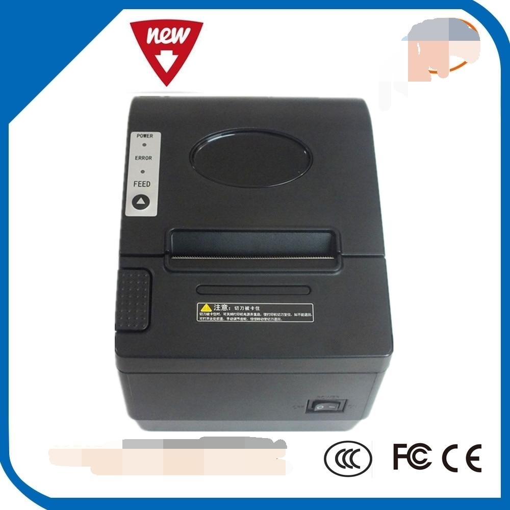 80mm impressora de recibos Térmica com cortador tem LAN Interface Usb de Série