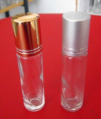 Rolo quente da venda 20 pcs10ml na garrafa do perfume, rolo claro do óleo essencial 10 ml na garrafa, recipiente pequeno do rolo de vidro