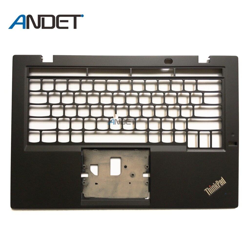 Renoviert Original Für Lenovo ThinkPad X1 Carbon 3rd Typ 20BS 20BT Palmrest Tastatur Lünette Top Ober Fall Abdeckung UNS UK