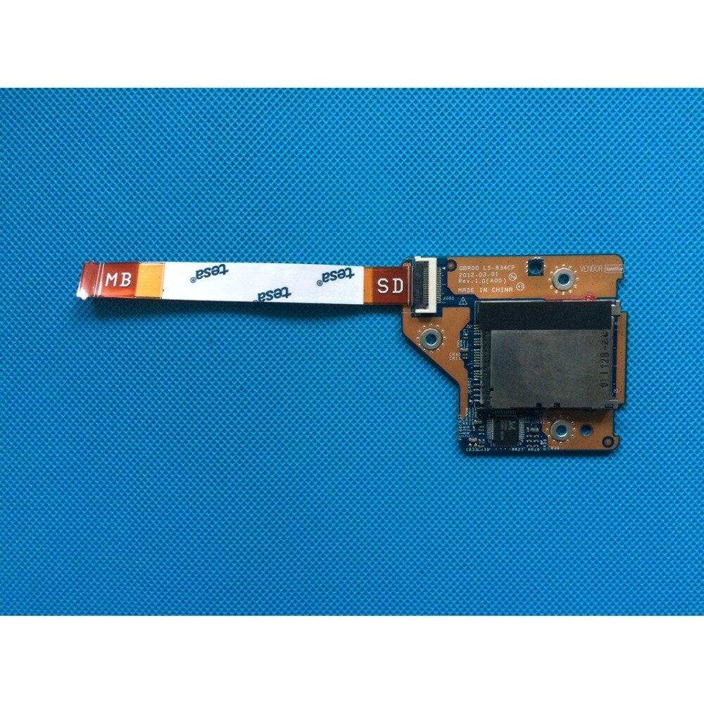 Nueva placa de circuito del lector de tarjetas con Cable-TP2V8/694 PC/QBR00 LS-834CP/PAR00...