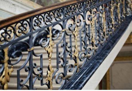 Hench 100% handmade forged custom designs garden railings