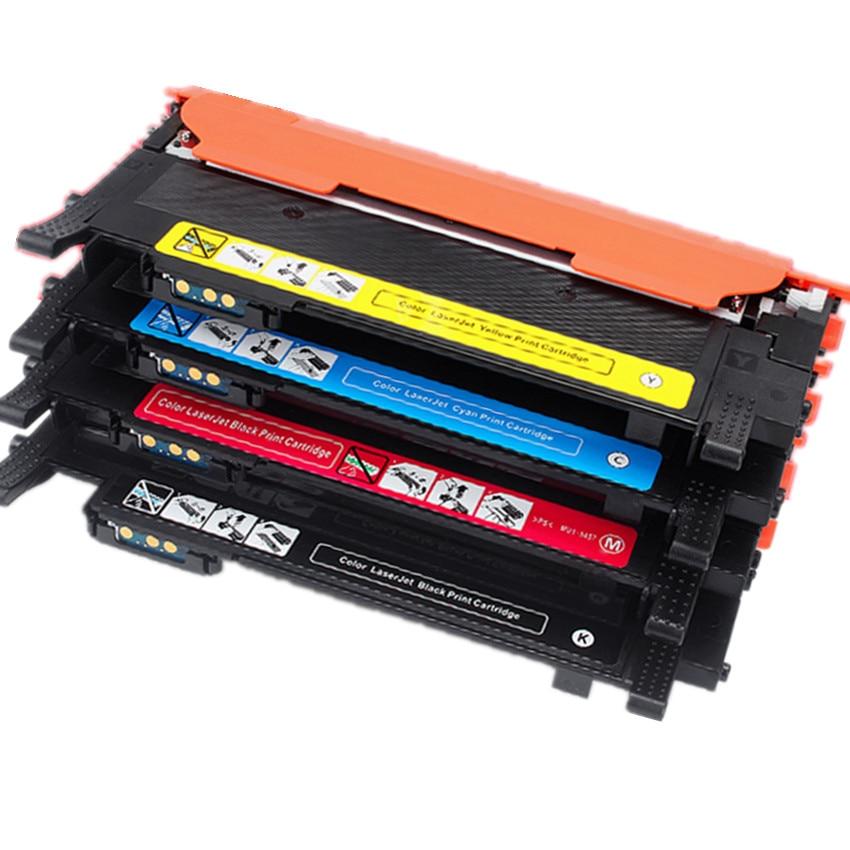 תואם CLT-406S K406s צבע טונר מחסנית עבור Samsung Xpress C410w C460fw C460w CLP 365w CLP-360 CLX 3305 3305fw clt-k406s