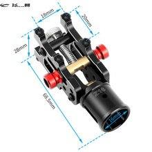 Feichao CNC Z16 aluminium plié bras Tube Joint bricolage pour Dia 16mm automatique avion RC Drone Copter pliable train datterrissage