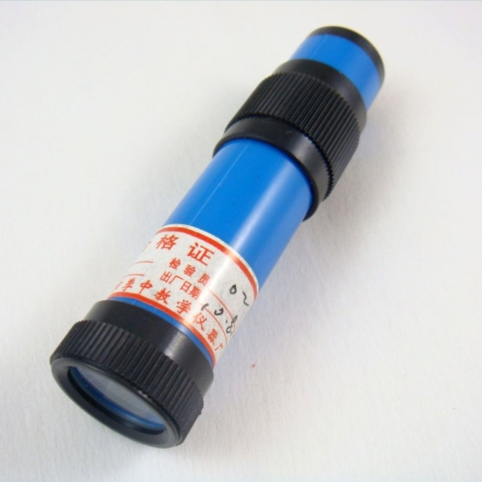 Hand-held Espectrógrafo divisor de luz óptica física equipamentos de ensino