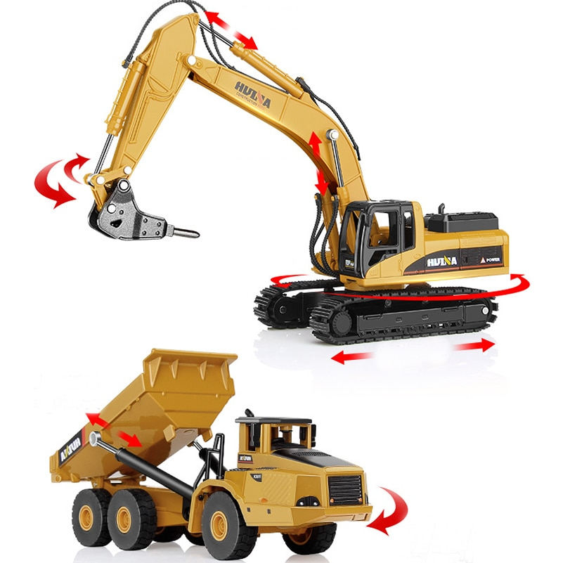 High Quality Engineering Car Tractor Toy Dump Truck Model Classic Toy Alloy Car Children Toys Engineering Vehicle kid model toys 1 50 scale engineering vehicle truck car model 140m3 motor grader high line series 85544 diecast model toys