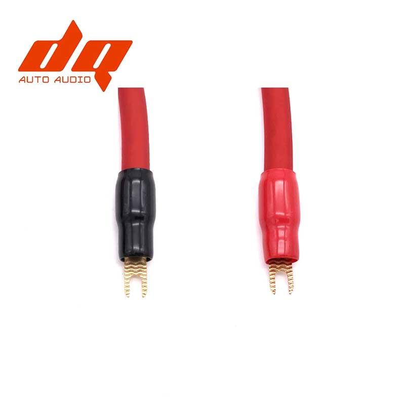 2 pair Y Car Wiring Harness Connector Terminal Copper Tubular Terminals
