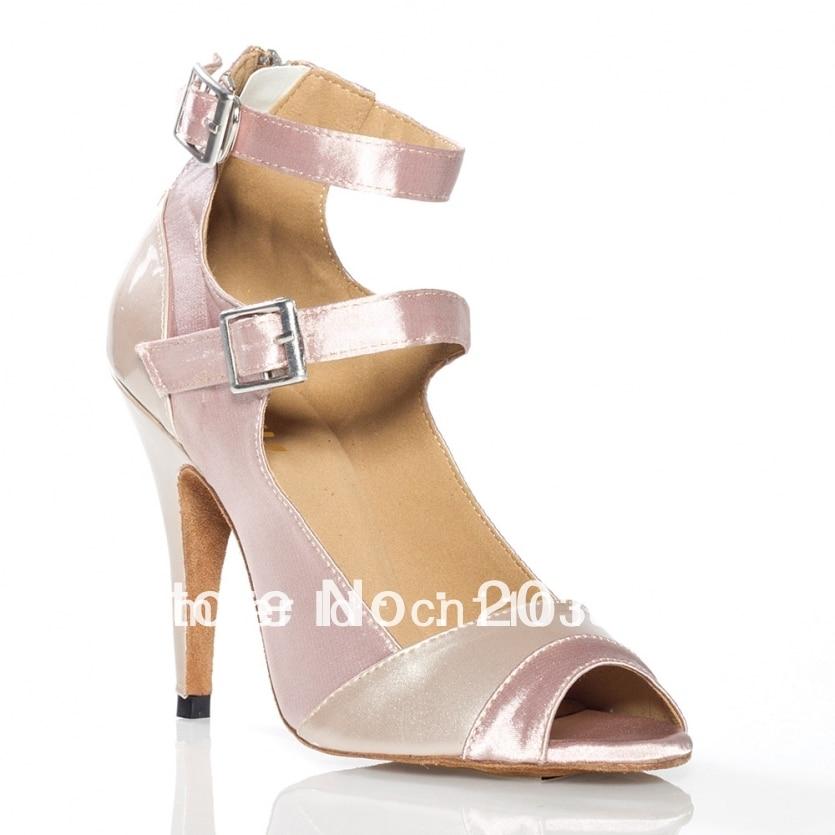 2013 Women Satin Patent Leather Dance Shoes Latin Ballroom Shoes Salsa Dance Shoes Wedding Dance Sandals