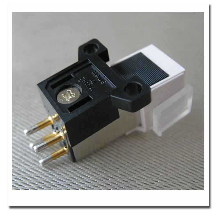 Alta calidad Japón 3600L fonógrafo Pickup Stylus chapado en oro fonógrafo cartucho de aguja tornillos de montaje conector de sonido LP