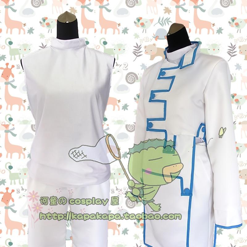 Disfraz de JoJos Bizarre Adventure Rohan Kishibe disfraz de Cosplay con top + pantalón + abrigo