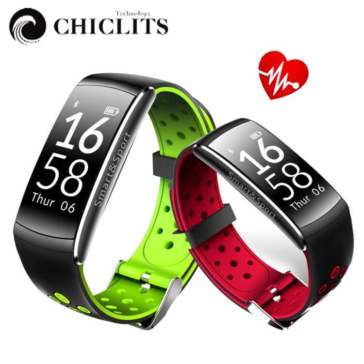 Q8 Sports Smart Wristband Waterproof Fitness Tracker Bracelet Smartband With Call SMS Alert Watch Heart Rate Smart Band