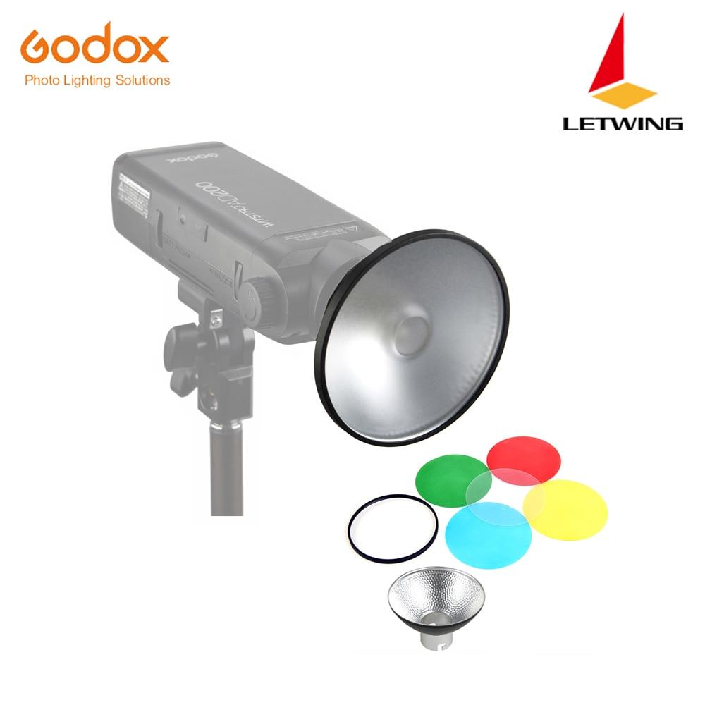 Стандартный отражатель Godox AD-M с цветным фильтром, мягкий диффузор для Godox AD200 AD180 AD360 AD360II