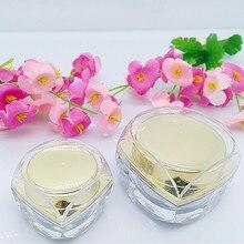 100pcs wholesale 5g 10 g  high-grade luxury cosmetics mini jar , 5ml 10ml golden small containers for cream , buy mini jars