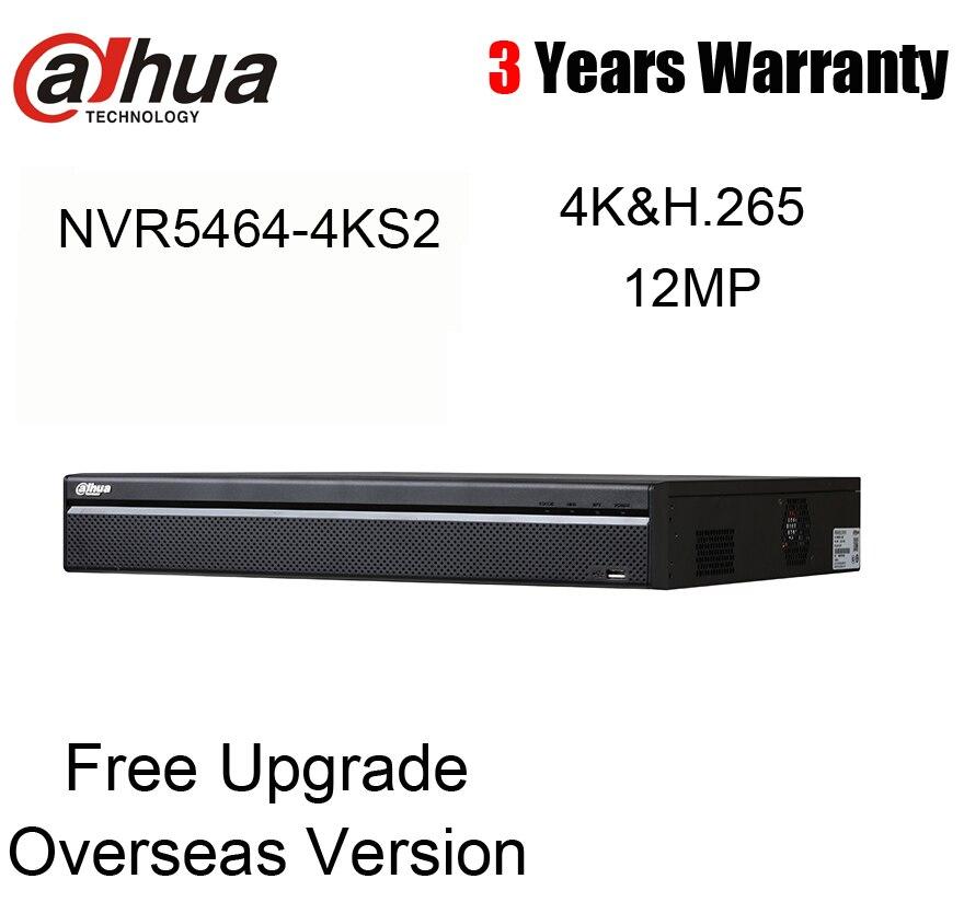Dahua Original NVR5464-4KS2 64CH NVR 4K H.265 NVR5464-4KS2 mit logo