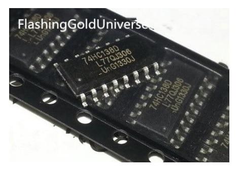Compras gratis 200 Uds 74HC138D 74HC138 SOP-16 nuevo original