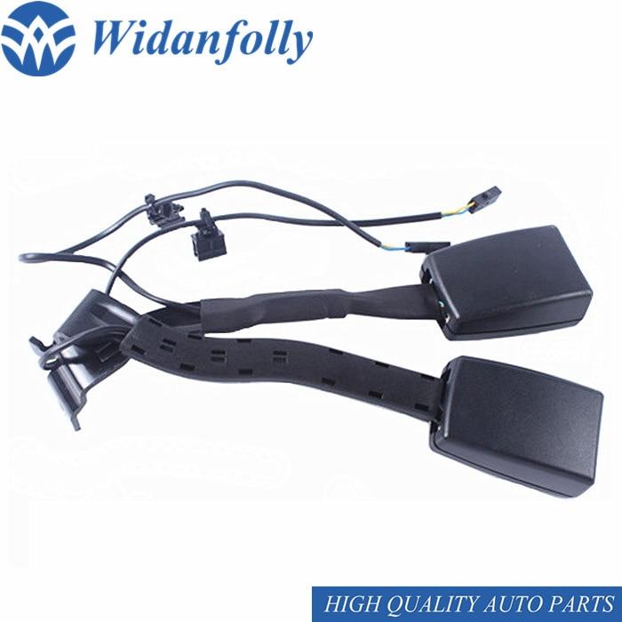 Widanfolly Esquerda/Direita Estofamento Do Assento Belt Buckle B6 06-11 Soquete Conector Para Passat Golf Jetta 5 MK5 1KD 857 755/756