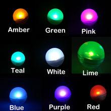 48 pièces Flottant Submersible Mondial Mini LED Perles De Fées Thé Lumières pour la Fête De Mariage Shisha Narguilé Bang Bouteille Décoration