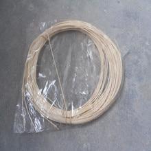 500 g/Pack indonésien rotin canne bâton meubles tissage matériel chaise extérieure panier couleur naturelle 1.2mm 1.5mm 2mm 2.5mm
