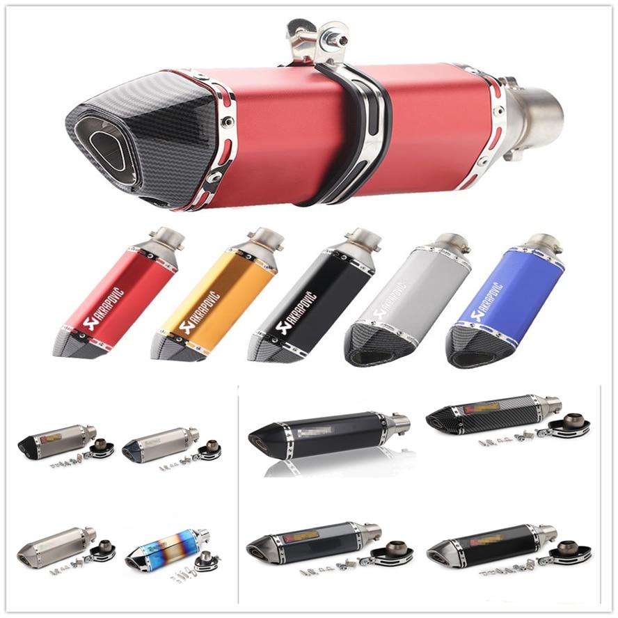 Silenciador de tubo de escape modificado para motocicleta de 51mm para SUZUKI HAYABUSA GSXR1300 SV1000 S TL1000 R M DL650 V-STROM
