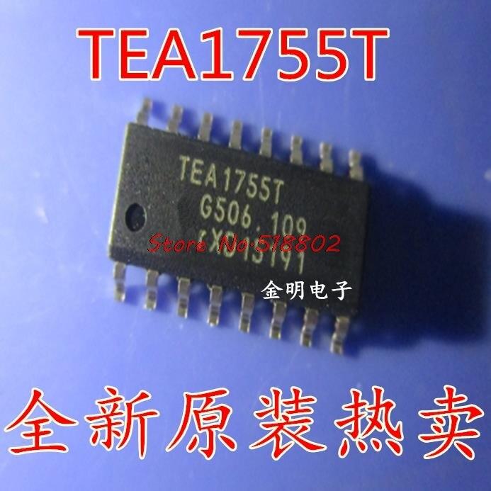 5 pçs/lote TEA1755T TEA1755 1755T SOP-16 Em Estoque