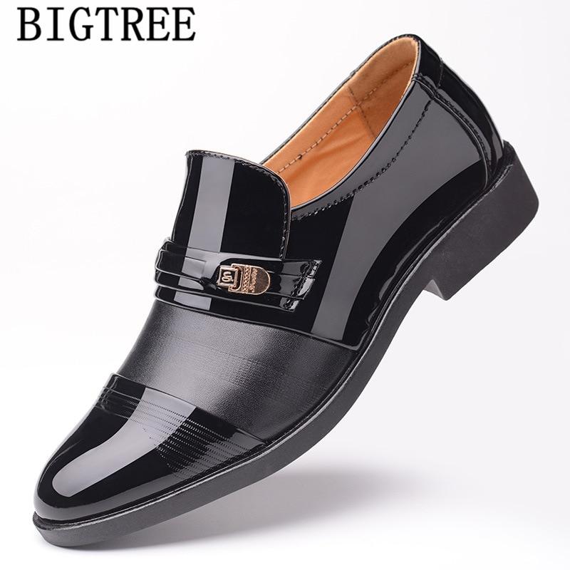 Vestido de los hombres zapatos de cuero, zapatos de boda, zapatos de...