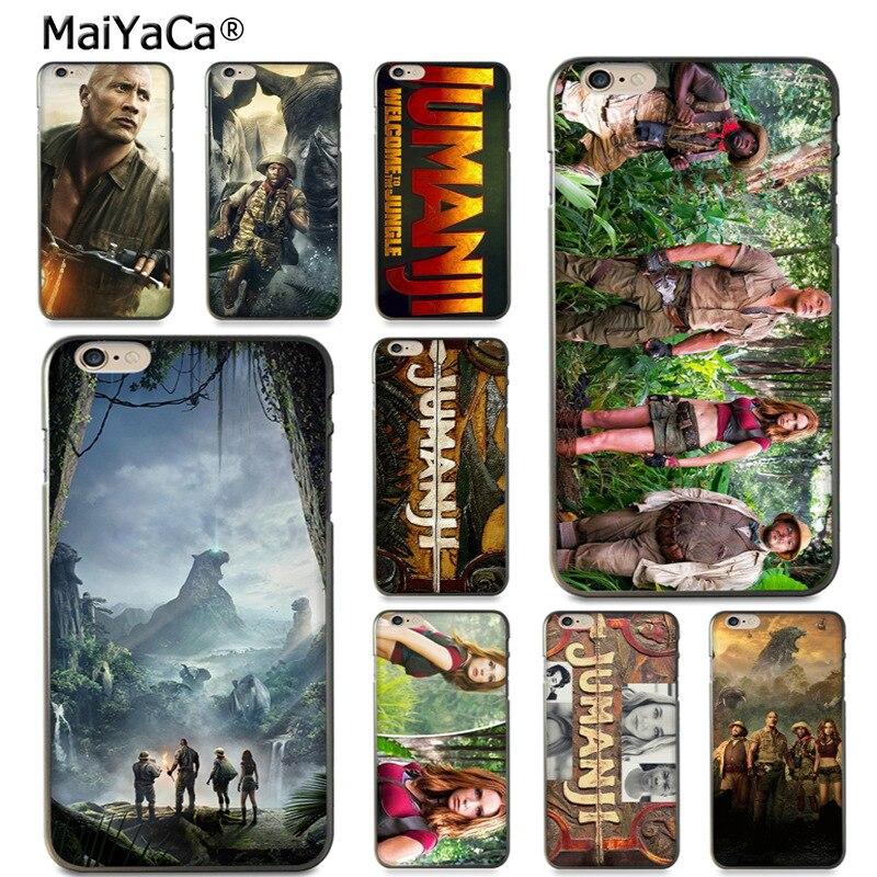 Чехол MaiYaCa jumanji для iPhone 8 7 6 6S Plus X 5 5S SE 11pro max