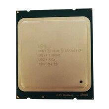 Intel xeon işlemci E5 2650 V2 CPU 2.6 GHZ LGA 2011 SR1A8 Octa Çekirdek Masaüstü işlemci 2650v2 cpu