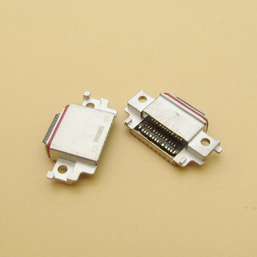 10 قطعة ل samsung غالاكسي A8 2018 Duos SM-A530F SM-A530DS A530 نوع-C مايكرو البسيطة USB موصل مقبس متفرع حوض ميناء الشحن