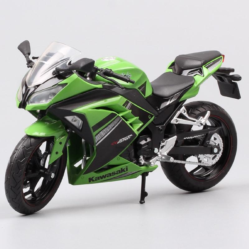Automaxx 1/12 Kawasaki Ninja 250R SE 2013 ، مقياس سباق الدراجات النارية ، ألعاب رياضية ودراجات نارية ، نماذج سيارات ، ألعاب ، نسخة طبق الأصل ، 300