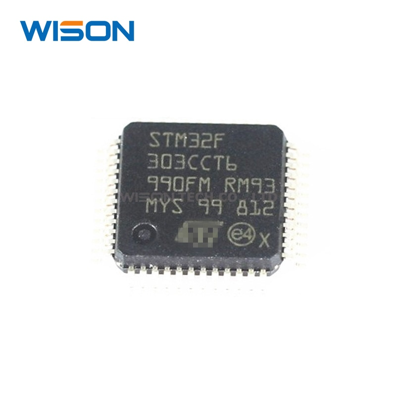 5/10 unids/lote STM32F303CCT6 STM32F303 CCT6 LQFP-48 original nuevo chip IC