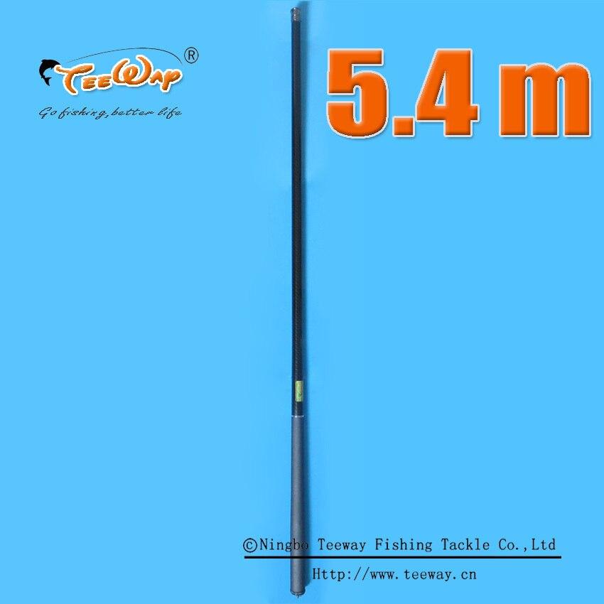 Redwolf carbon 5.4m Stream Taiwan Hand pure carbon fishing rod fishing pole rods carbon fiber set kit tools