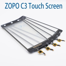 Zopo color c3 phone 용 새 원본 5.0 인치 터치 스크린 어셈블리 교체