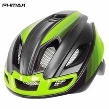 PHMAX 2020 Pro casques de bicyclette à la lumière arrière, vtt, hommes, femmes, casque de vélo de montagne, boîtier de bicyclette intégré,