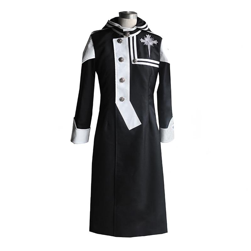 D gris-hombre Lenalee Lee de Cosplay traje uniforme