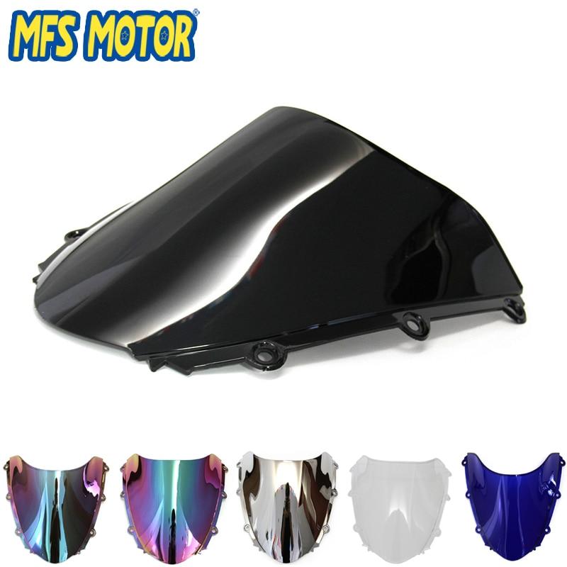 Motorcycle Black Windshield Windscreen For Honda CBR 1000 RR 04 05 06 07 CBR1000RR 2004 2005 2006 2007