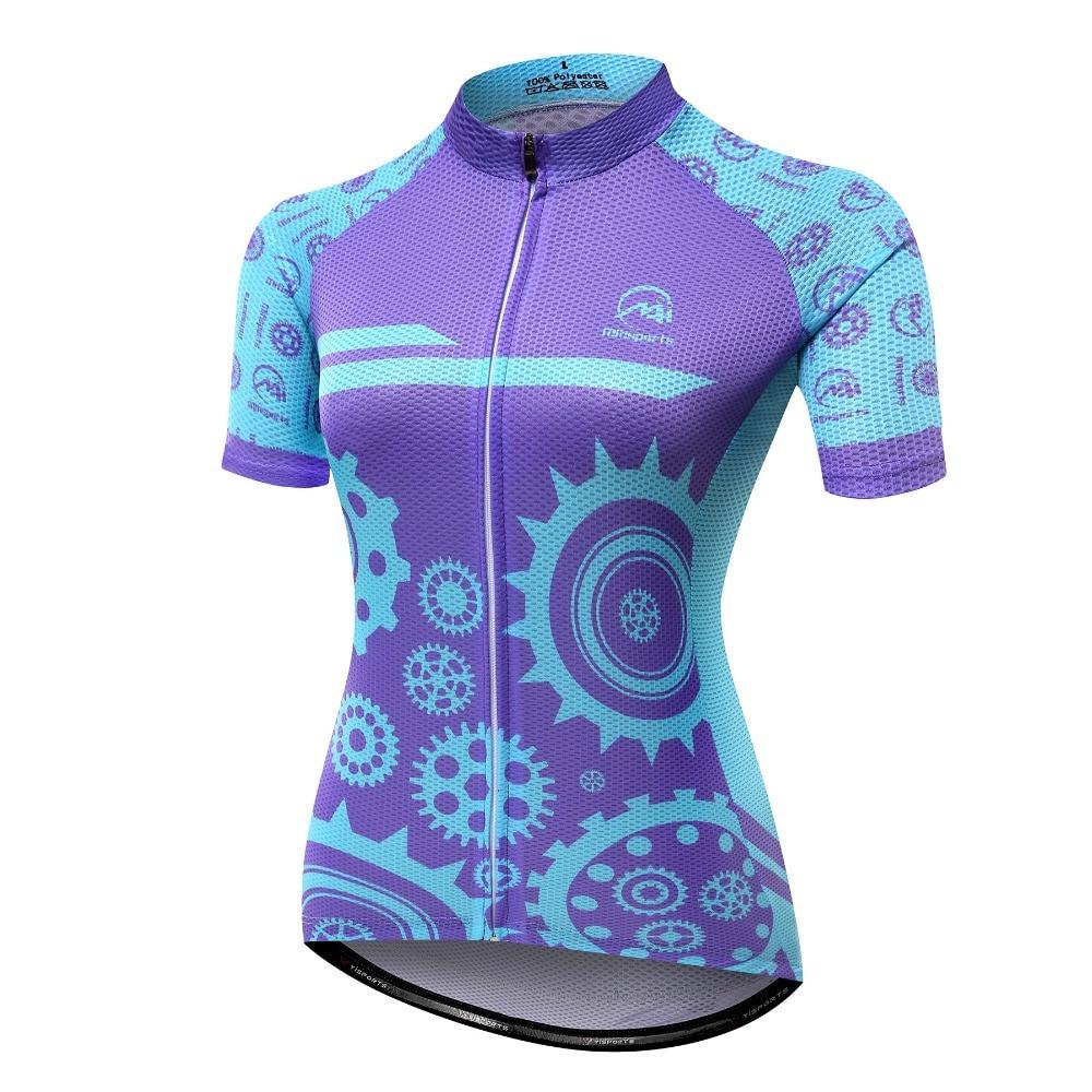 Ropa de Ciclismo MTSPS para mujer, ropa de secado rápido para Ciclismo de montaña, Maillot de manga corta para Ciclismo de montaña