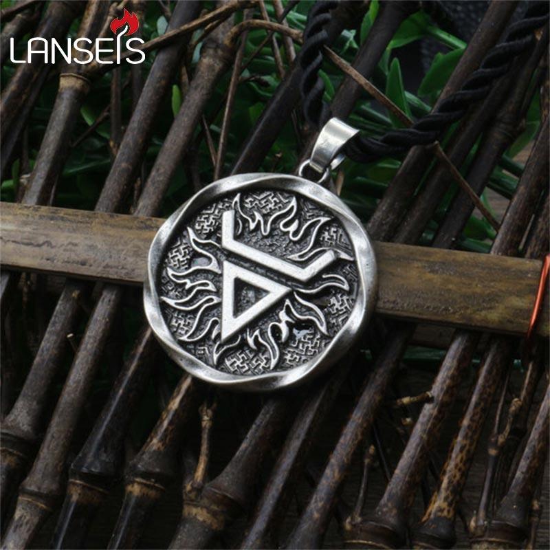 1pcs Veles symbol.Weles.Slavic wealth talisman  pendant Ancient slavic talisman pendant jewelry pagan men necklace