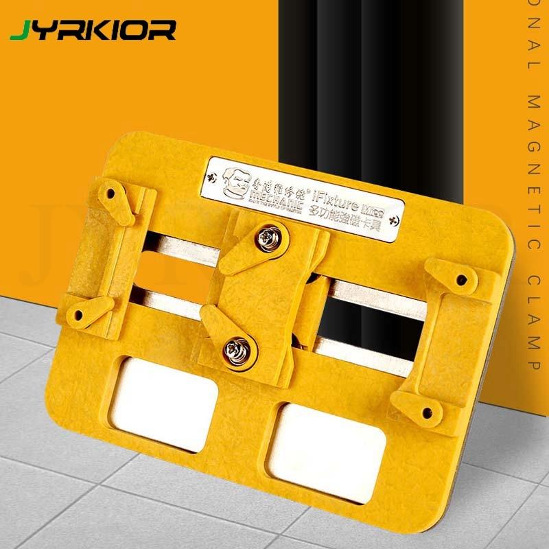 Abrazadera mecánica, accesorio magnético multifuncional, plantilla para teléfono móvil, Chip de placa base, reparación de posicionamiento NAND