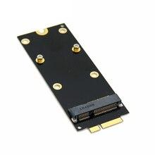 MSATA SSD 17 + 7pin SSD Dönüştürücü konnektör Adaptörü Kartı için 2012 Macbook Pro Retina iMac A1425 A1398 MC975 MC976 ME662 ME664