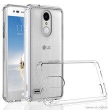 Pour LG Aristo 2 X210MA/Aristo 2 Plus/dynastie hommage/K8 2018/LV3 2018 TPU Ultra mince et PC dur dos étui transparent anti-rayures