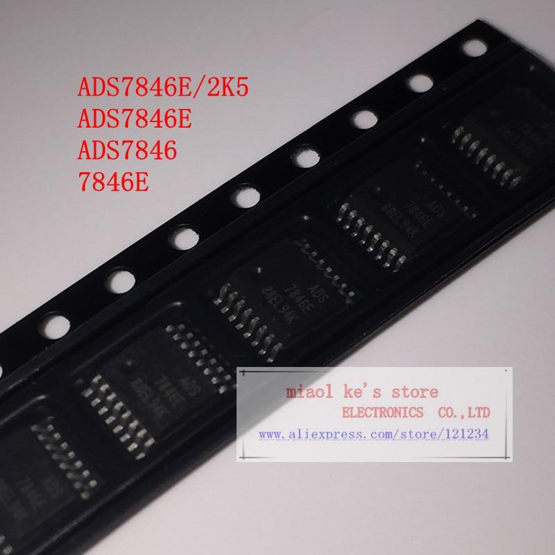 [5 uds/1 lot] ADS7846E/2K5 ADS7846E ADS7846 7846E-IC pantalla Control 12BIT 2,2 V-5,25 V 16SSOP