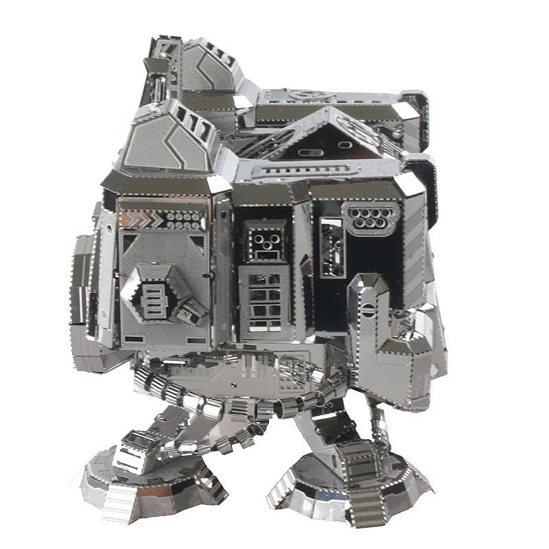 3D Metal Stainless Steel Puzzle God of War Returns Adult Boy Assemble Model Jigsaw Educational Birthday Gift Desktop Display Toy long t bui returns of war