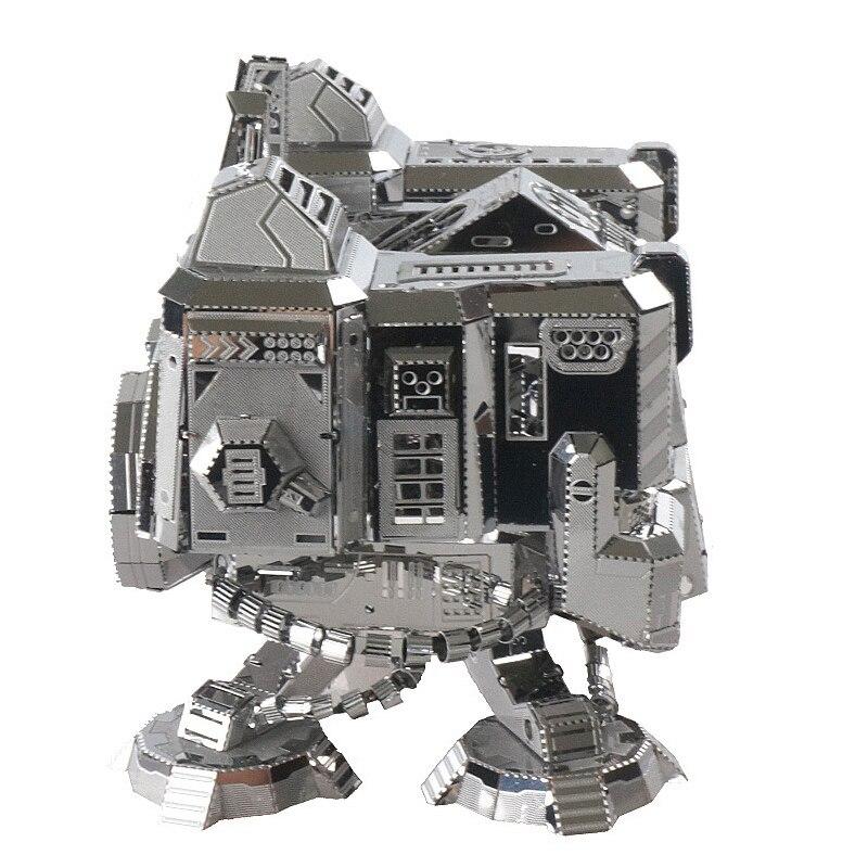 Rompecabezas de acero inoxidable 3D, devoluciones de Dios de la guerra, rompecabezas de modelo de ensamblaje para niño adulto, regalo educativo de cumpleaños, juguete de exhibición de escritorio