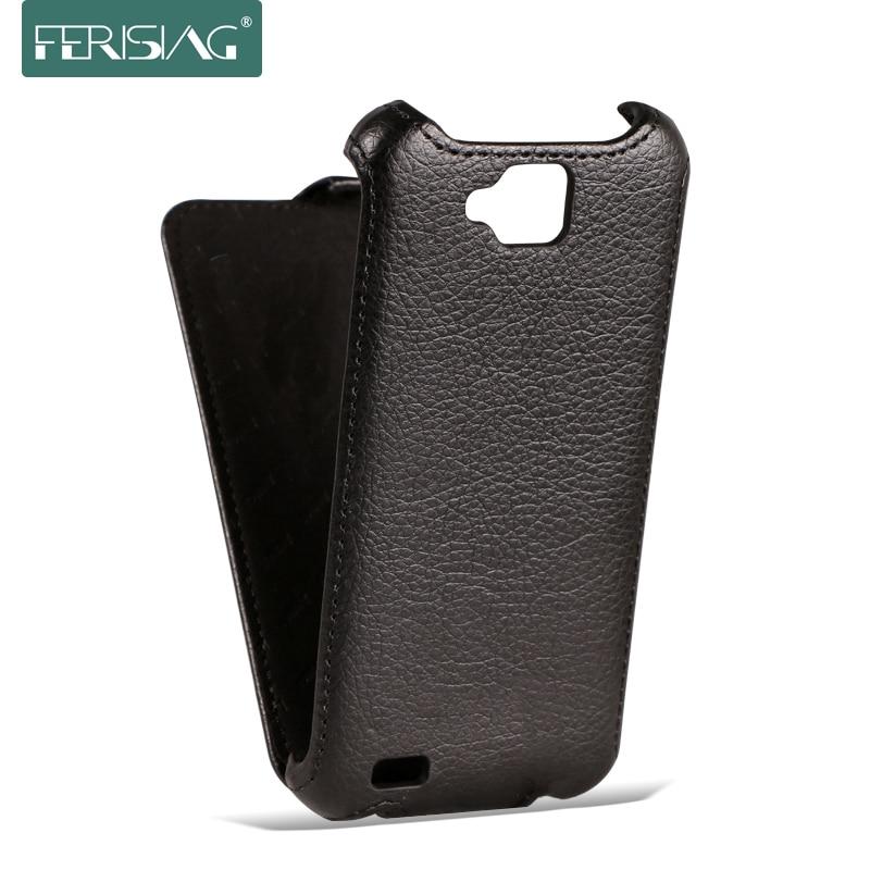 (Clear) For Fly IQ446 IQ436 IQ442 IQ444 IQ441 Flip Leather Cover Case Lichee Pattern Phone Cases Mobile Phone Bag P006